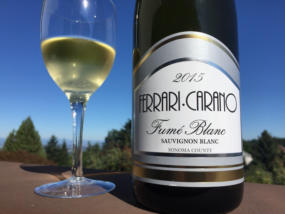 Call It What You Will It S A Nice 15 Wine Ferrari Carano 2015 Fumé Blanc Pat The Wine Guy